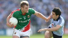Key men: Aidan O'Shea offers Mayo a new attacking dimension while Cian O'Sullivan is Dublin's designated sweeper. Photograph: Inpho
