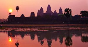 The Temples of Angkor in Cambodia was voted the top must-see tourist site in the world. Photograph: Lonely Planet