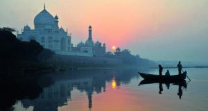 The Taj Mahal in India was number five. Photograph: Pete Seaward/Lonely Planet