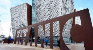 The Titanic Belfast has only been open for three years, but still ranks among Lonely Planet's top 500 tourist sites in the world. Photograph: Paul Faith/PA Wire