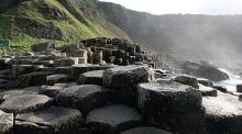 The Giant's Causeway in Co Antrim was the top ranked Irish sight on the Lonely Planet's list of must-see destinations worldwide. Photograph: Paul Faith/PA Wire
