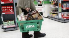 Sales at Wal-Mart's British supermarket Asda fell for a fourth straight quarter on Tuesday, down 4.7 percent to confirm its position as the weakest performer in a sector hammered by the growth of discount retailers