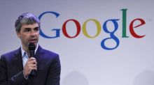 Google chief executive Larry Page: will the creation of Alphabet really allow him and his colleagues to focus on the group's productive future? Photograph: Eduardo Munoz/Reuters