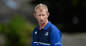 Leinster Rugby have this morning confirmed that Leo Cullen has been appointed as head coach on a two year deal. Photograph: Dáire Brennan/Sportsfile
