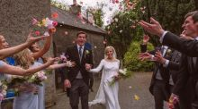 The couple were married on May 22nd, 2015, at St Patrick's church in Slane.