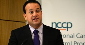 Minister for Health Leo Varadkar said an additional €1 billion was needed to meet unmet demand in the health service. Photograph: Cyril Byrne