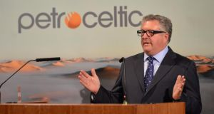 Petroceltic chief executive Brian O'Cathain: This week filed a case against Aut O'Mattic A8C Ireland, the Irish unit of Wordpress's US owner Automattic. Photograph: Sara Freund