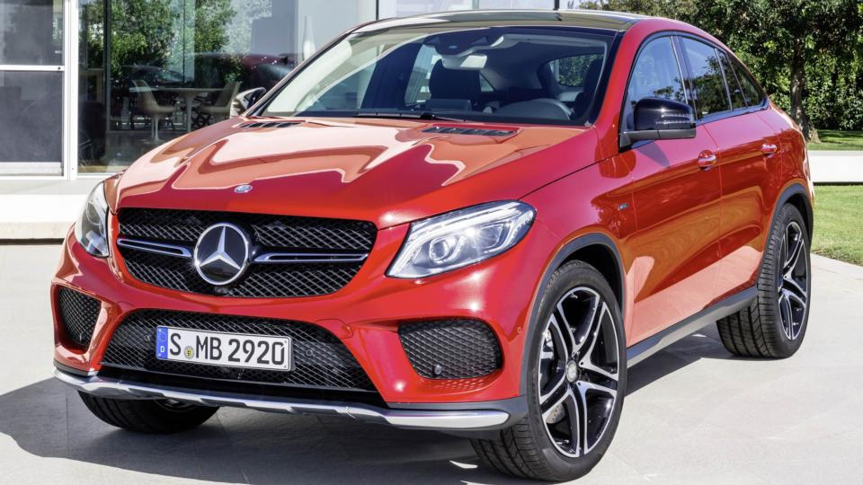 Mercedes Gle Coupe Another Confusing Coupe Crossover