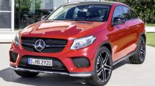 Mercedes GLE coupe: another confusing, coupe crossover
