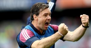 Galway hurling minor manager Jeffrey Lynskey will oversee the Ireland team which plays Scotland in compromised rules. Photograph: James Crosbie/Inpho.