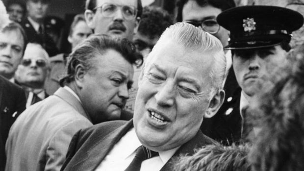 Rev Ian Paisley: the private letter from a Garda body in Dublin was addressed to the most senior Irish official at the Anglo-Irish Secretariat at Maryfield. Photograph: Peter Thursfield