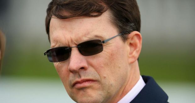 Trainer Aidan O'Brien has already won the Galileo Futurity Stakes at Curragh nine times. Photograph: PA.