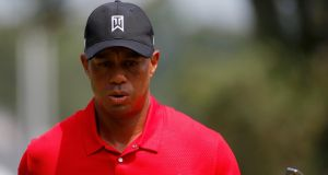 The wheels came off Tiger Woods' Wyndham Championship challenge in the final round at Greenboro