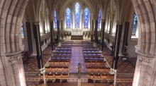 Drone captures stunning interior views of St Patrick's Cathedral
