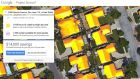 Project sunroof: based on your address, it can estimate the hours of available sunlight per year and the square footage available for solar panels
