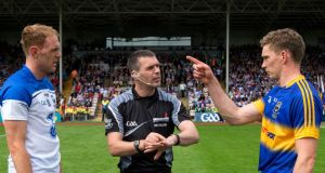 Wexford's James Owens will referee his first senior All-Ireland hurling final next month. Photograph: Inpho