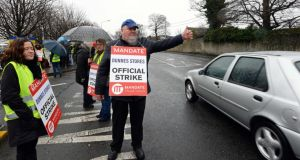 More than 8,700 days were lost to industrial disputes in the second quarter of 2015, according to new figures from the Central Statistics Office (CSO).  Photo: Eric Luke / The Irish Times