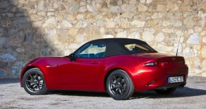 The first thing that strikes you about the MX-5 is its compact size. The car is noticeably smaller and lower than its predecessor