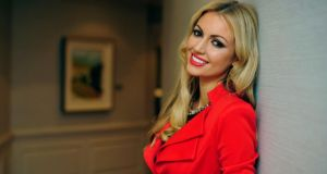 Rosanna Davison: 'gluten in food should be avoided'.  Photograph: Aidan Crawley