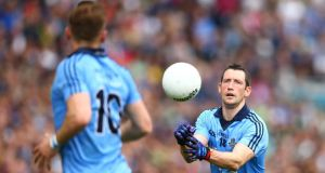 "Dublin's Denis Bastick: ""A lot of it is mental. We are a better team. We have been improving the last few years but there is the mental factor in that."" Photograph: Cathal Noonan/Inpho"