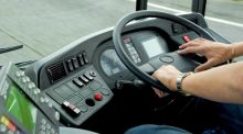 A bus driver for a private coach operator was sacked after using his iPad while driving his empty bus at 100km/hr on the M50 two years ago.