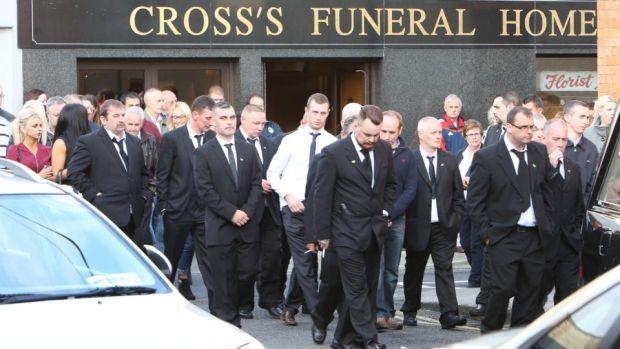 Hundreds attend Jason Corbett removal in Limerick