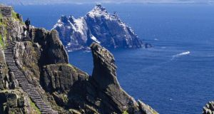 Skellig Michael, off the coast of Co Kerry.	Photograph: Design Pics/Gareth McCormack