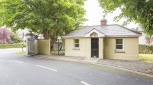 Detached two-bed period gate lodge on Mount Merrion Avenue at €370,000