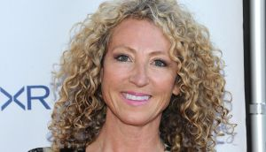 Lorraine Massey, also known as the Curly Girl. Photograph: Jason Kempin/Getty Images for Rush For Literacy