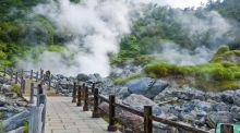 Travel writer, Japan: 'The town of Unzen sits in a bowl of steaming, gurgling volcanic hills'
