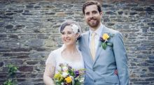Our  wedding story:  from college love to a Kerry beach