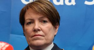Garda Commissioner Noírín O'Sullivan issues statement.  File photograph:Cyril Byrne / The Irish Times