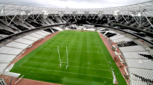 Time-lapse shows transformation of London's Olympic Stadium