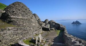 For 600 years Skellig Michael  was a centre of monastic life for Irish Christian monks. The Celtic monastery, which is situated almost at the summit of the 230-metre-high rock, became a Unesco World Heritage Site in 1996. File photograph: Valerie O'Sullivan