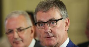Ulster Unionist Party leader Mike Nesbitt: his party has   resigned from Northern Ireland's power-sharing executive and is forming an opposition over claims the Provisional IRA still exists. Photograph: PA