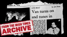 (Archive 1978) Joe Breen on Van Morrison's new release Wavelength