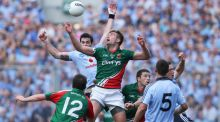 Mayo's Aidan O'Shea will pose a huge threat to Dublin's ambitions at  Croke Park. Photo: Cathal Noonan/Inpho