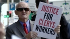 11 weeks later Clerys staff continue protest