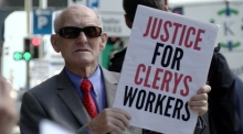 Clerys staff continue to protest 11 weeks later
