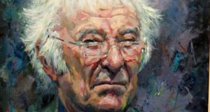 James Brohan's painting of Seamus Heaney