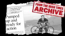 Summers Past:  Róisín Ingle's 53-mile cycle through Donegal and Derry, 2005