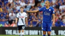 Midfielder Gokhan Inler is in line for his first Premier League start in Leicester's game away to Bournemouth on Saturday. Photograph: Geoff Caddick/AFP