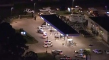 Deputy sheriff gunned down in Texas while fuelling his car