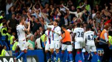 Joel Ward's goal gave Crystal Palace a 2-1 win over Chelsea at Stamford Bridge. Photograph: Getty