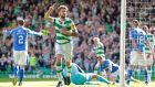 Charlie Mulgrew scored Cletic's third in their 3-1 win over St Johnstone. Photograph: Reuters