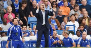 Jose Mourinho has said Chelsea must do better after their 3-1 defeat to Crystal Palace. Photograph: Reuters