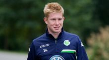 After a drawn out transfer saga Kevin De Bruyne has finally completed his move from Wolfsburg to Manchester City. Photo: Julian Stratenschulte/PA