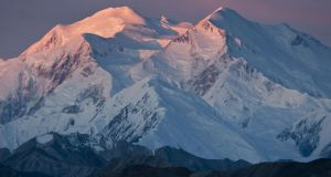 President Barack Obama will officially restore Denali as the name of North America's tallest mountain, ending a 40-year battle over what to call the peak that has been known as Mount McKinley. Photograph: National Park Service/Tim Rains/Reuters