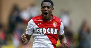 Monaco's French forward Anthony Martial is on the verge of a move to Manchester United. Photograph: Getty Images