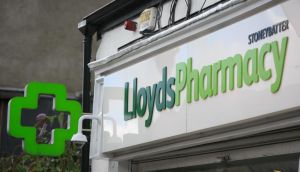 Lloyds has denied any wrongdoing in its claiming of phased fees in respect of a single prescription dispensed in one visit and has insisted its approach is no different from other pharmacy chains. Photograph: Gareth Chaney/Collins